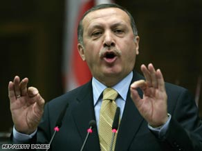 Prime Minister Erdogan faced a five-year ban from politics if the court had ruled against AKP.