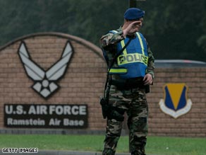 Accused allegedly plotted to attack places in Germany frequented by Americans, including an air base.