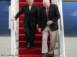 Vice President Dick Cheney arrives in Azerbaijan on Wednesday.