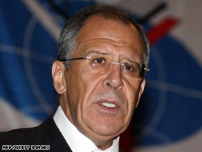Russian Foreign Minister Sergey  Lavrov has rejected U.S. Vice President Dick Cheney's criticism.