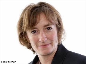 Good Energy chief executive and founder Juliet Davenport