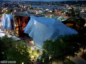 The Experience Music Project in Seattle has appeared in the Forbes list of ugly buildings. Does it affect your mood?