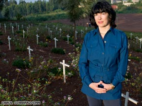 "CNN's Christiane Amanpour traveled to the killing fields of Europe, Africa and Asia for ""Scream Bloody Murder."""
