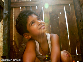Almost half of Indian children are malnourished and hundreds of millions have no access to proper sanitation.