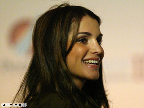 Queen Rania's down to earth personality has won hearts and minds all over the world.
