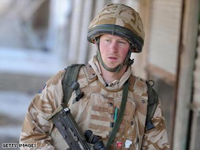 Harry spent three months in Afghanistan earlier this year.