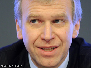 Belgium's Prime Minister Yves Leterme has offered his government's resignation, according to reports.