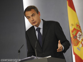Spanish Prime Minister Jose Luis Rodriguez Zapatero says ETA is losing all the battles.