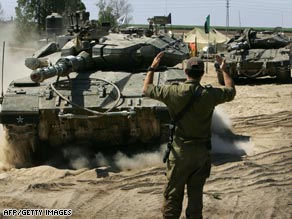 Israeli tanks