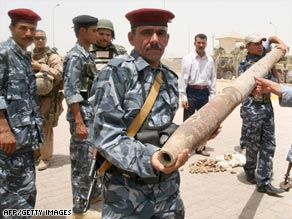 Iraqi soldiers will soon be responsible for running the once militant-riven province of Anbar.