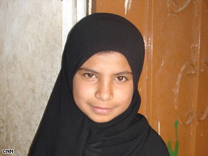 Nujood Ali, 10, has been chastised by some in Yemen for speaking out about her arranged marriage.