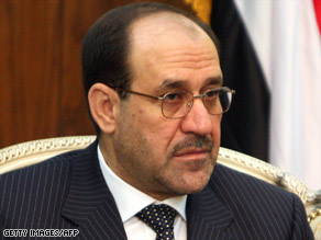 "Nuri al-Maliki told Der Spiegel that he favors a ""limited"" tenure for coalition troops in Iraq."