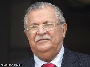 Many observers think President Jalal Talabani, a Kurd, will vote against the measure.