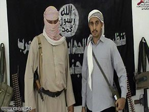 Al Qaeda in Yemen have claimed that Ahmed bin Said bin Omar al-Mashjari, right, carried out Friday's attack.