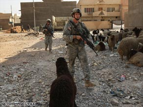 Iraq says U.S. troops will be out of cities by June 30; the U.S. says the date is only a goal.