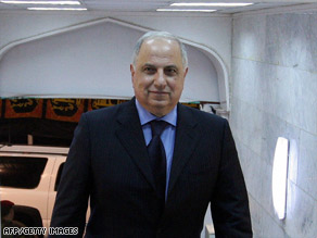 Ahmed Chalabi was unharmed in a car bombing, the Iraqi Interior Ministry said.