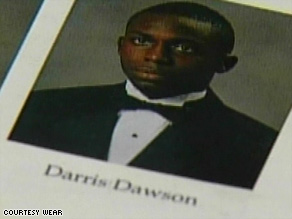 An unnamed U.S. soldier is accused of killing Army Staff Sgt. Darris J. Dawson in Iraq on Sunday.