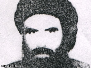 Mullah Omar, chief of the Taliban, is shown in this undated headshot photo.