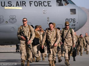 U.S. Marines arrive this year in Kandahar, Afghanistan, where analysts say many more troops are needed.