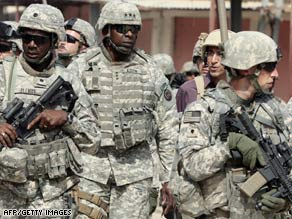The U.S. wants troops in Iraq to be immune from Iraqi law.