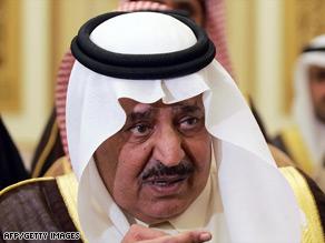 Saudi Interior Minister Prince Naif Bin Abdel-Aziz