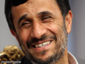 Iranian President Mahmoud Ahmadinejad has outlined where he thinks U.S. policy needs to change.