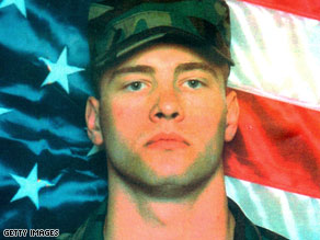 An undated file photograph of Army Staff Sgt. Matt Maupin, who was kidnapped in 2004 and later slain.