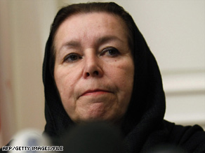 Christine Levinson, wife of Robert Levinson, went to Tehran last year to try to learn her husband's fate.