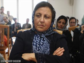 Shirin Ebadi won the Nobel Peace Prize in 2003 for her human rights work.