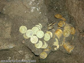"Scientists call the find ""one of the largest and most impressive coin hoards ever discovered in Jerusalem."""