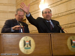 TV reporter Muntadhar al-Zaidi, shown in a file photo, faces a trial for his shoe-throwing protest.