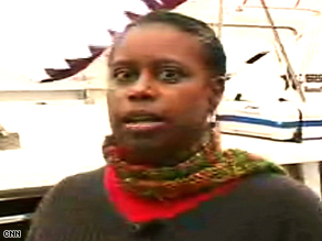 """""""Our mission was a peaceful mission,"""" says former U.S. Rep. Cynthia McKinney, who was aboard the Dignity."""