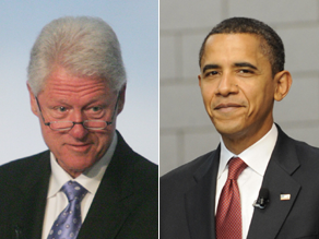 Bill Clinton and Obama spoke Monday morning.