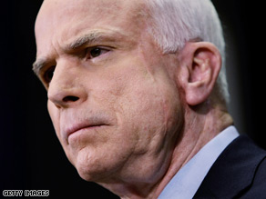 Sen. John McCain's campaign says Barack Obama has not been consistent on Iraq.