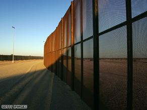 Americans are divided over building a 700-mile long border fence.