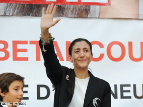 Do you have a question for Ingrid Betancourt?
