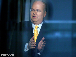 Rove is a former top Bush aide.