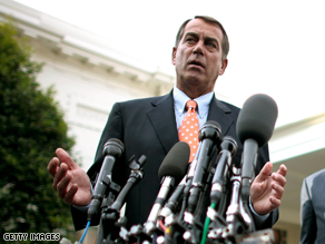 Boehner is leading a group of Republicans to ANWR.
