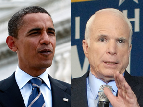 McCain said Obama's Senate record was more liberal than a self-described socialist's.