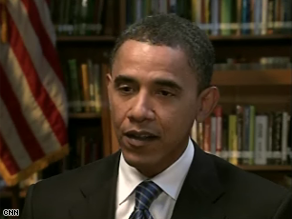 CNN's Fareed Zakaria interviewed Obama Friday.