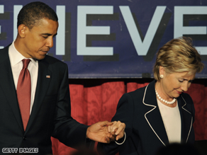 A former Clinton adviser says Obama is not formally vetting the New York senator.