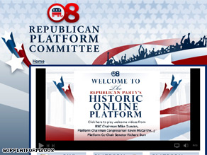 The RNC launched a new interactive website Friday.