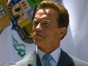 Gov. Schwarzenegger said he would consider a cabinet position if Obama offered one.