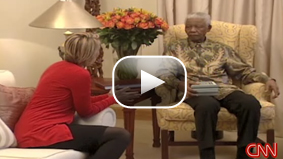 CNN's Robyn Curnow had a chance to sit down with Nelson Mandela and his family as they celebrated his 90th birthday.