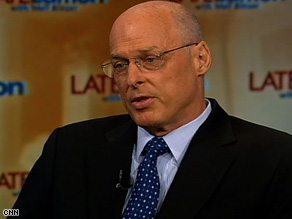 Treasury Secretary Henry Paulson insists the stimulus package is working.