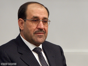 Obama and Maliki met Monday.
