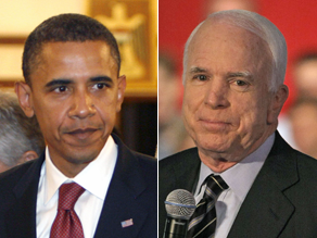 McCain and Obama have their first debate September 26.