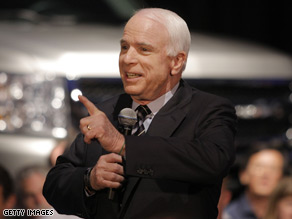 Do you have a question for presumptive Republican nominee John McCain?