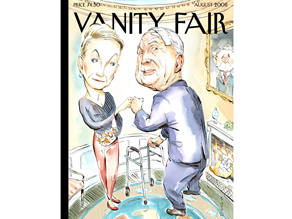 Vanity Fair is out with their own takeoff of the New Yorker cover