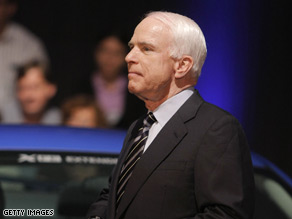 McCain campaigned in Pennsylvania Wednesday.&#039;